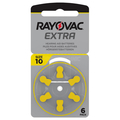 Hearing  aid battery Rayovac Nr.10 Extra Advanced