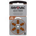 Hearing  aid battery Rayovac Nr.312 Extra Advanced