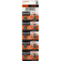 LR43 LR1142 186 Maxell Button Battery Alkaline 10pce